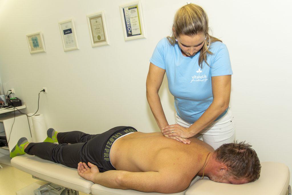 Fizioterapija Vitaholis Terapevtska masaža