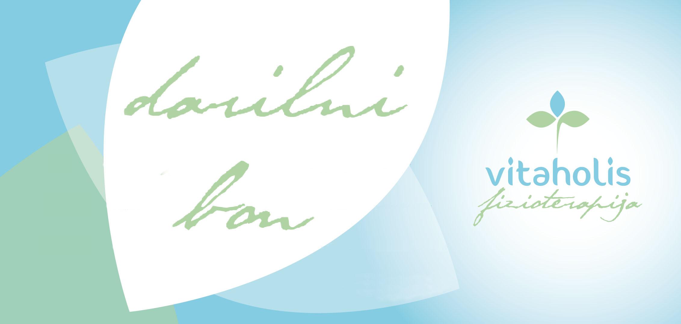 Fizioterapija Vitaholis Darilni bon